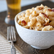 Candied Bacon Mac and Cheese