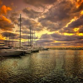 marina by Abu  Janjalani Abdullah - Transportation Boats ( boats, transportation )