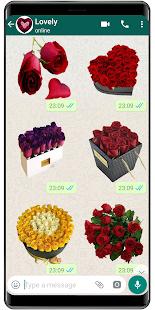 Flowers Stickers 2020 🌹 WAStickerApps Flowers