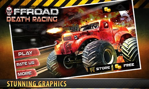 Offroad Death Racing 3D - screenshot