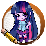 Learn To Draw  Equestrian Girl 1.02 Apk