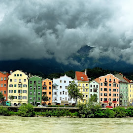Innsbruck Skyline by Francis Xavier Camilleri - City,  Street & Park  Skylines