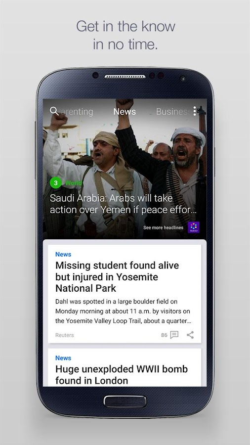 Yahoo - News, Sports & More Screenshot 0