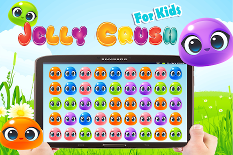 Jelly Crush free game for kids - screenshot