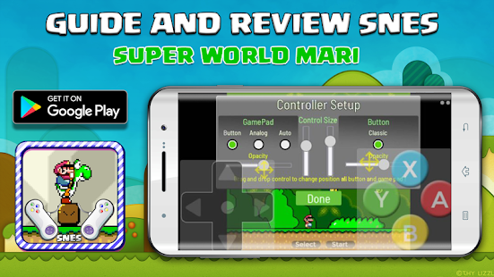 SNES Super Mari World - Guide Board & story for pc