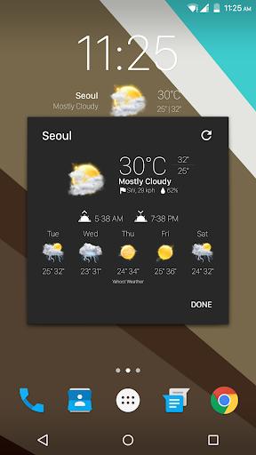 Real Weather Icons for Chronus - screenshot