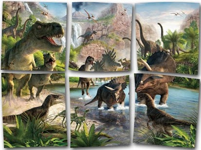 Dinosaur Puzzles - screenshot