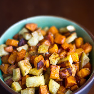 Roasted Sweet Potatoes with Garam Masala
