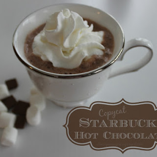 Starbucks Hot Chocolate – Copycat