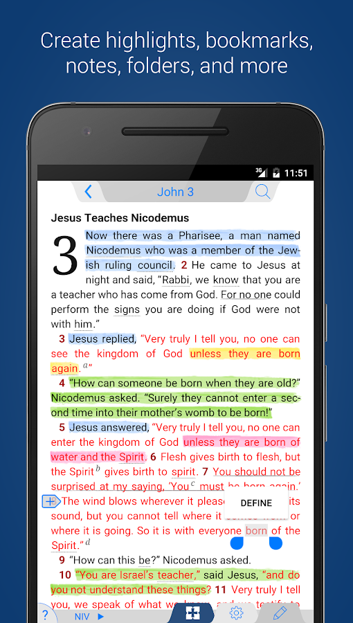 NIV 50th Anniversary Bible Screenshot 1