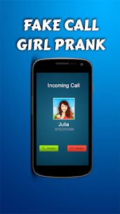 Fake Call Girl Prank - screenshot