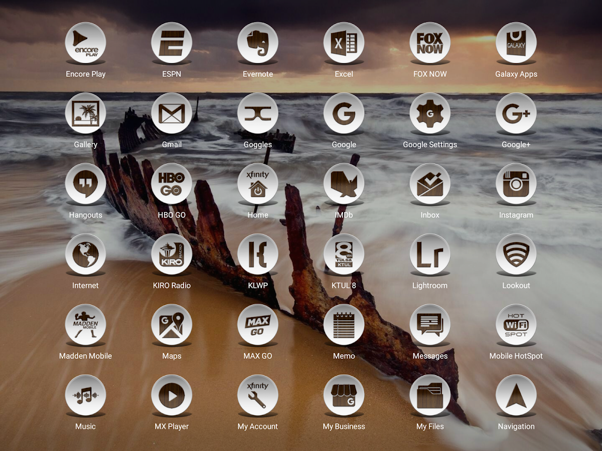 Daf Dark Wood - Icon Pack Screenshot 15