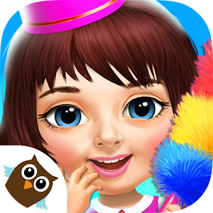 Sweet Baby Girl Hotel Cleanup - Crazy Cleaning Fun Online PC (Windows / MAC)