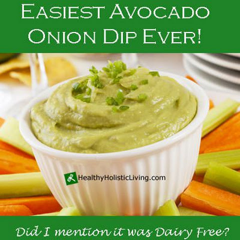 Avocado Onion Dip