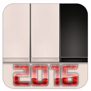 Cover art Piano Tiles 2016 game