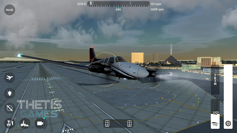 Flight Simulator 2018 FlyWings Free Screenshot 6