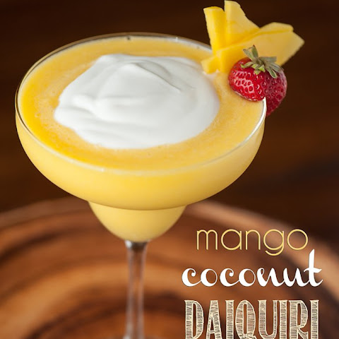 Mango Coconut Daiquiri