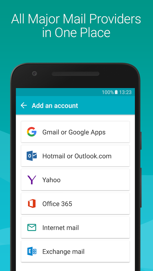 MobiSystems AquaMail - Email App Screenshot 1