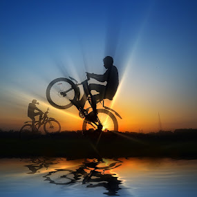 Re-Take by Oms Datum Photography - Transportation Bicycles ( transport, travel )