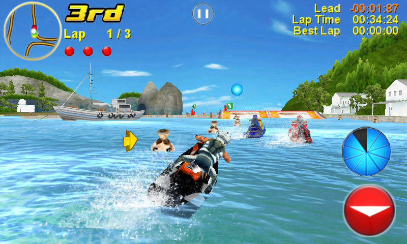Aqua Moto Racing 2 Redux Screenshot 2