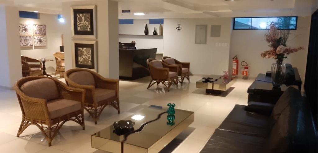 Apartamento com 3 dormitórios para alugar, 120 m² por R$ 2.100,00/ano - Manaíra - João Pessoa/PB
