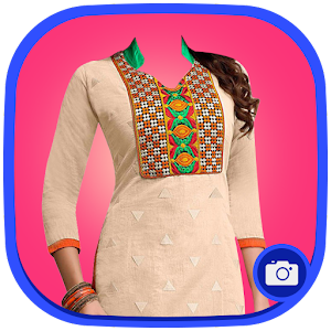 Woman Salwar Suit Photo Maker
