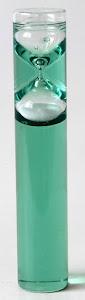 Песочные часы-жидкие, 3 мин, зеленый