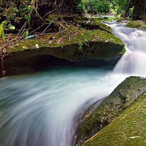 Kawasan Falls by Boyet Lizardo - Landscapes Waterscapes ( falls, cebu, kawasan )