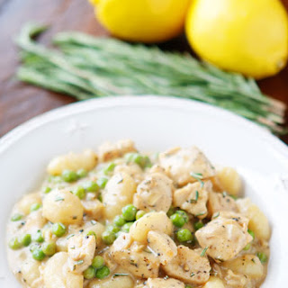 Rosemary Lemon Chicken Gnocchi