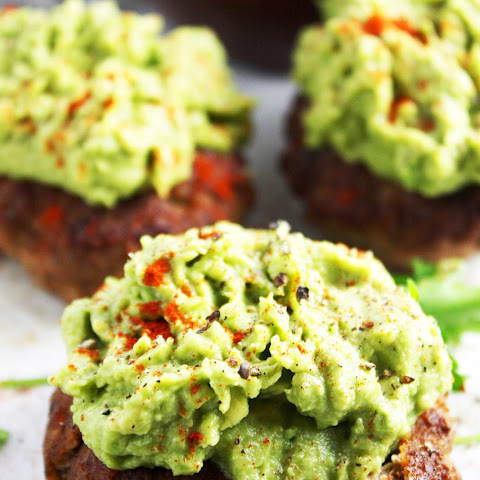 Guacamole Turkey Burgers [21 Day Fix]
