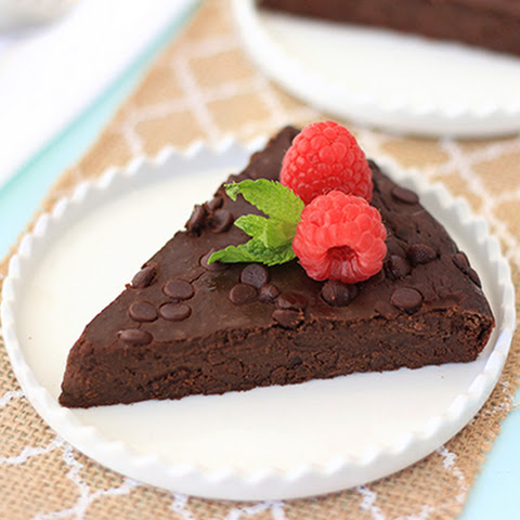 HG's Fudgy Flourless Chocolate Cake