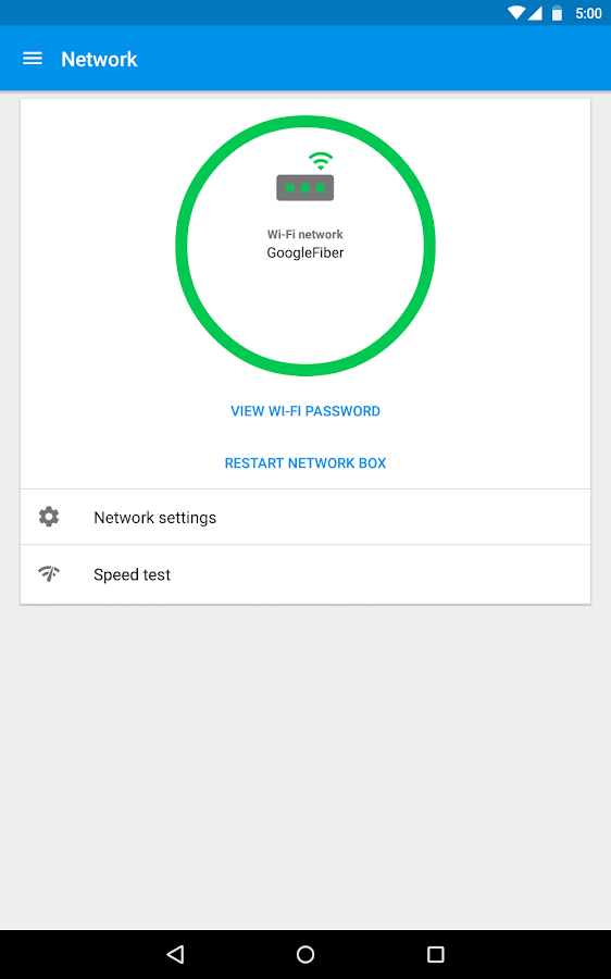 Google Fiber Screenshot 5