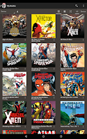 Screenshot of Marvel Comics