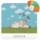 XPERIA™ Dotted Dog Theme APK