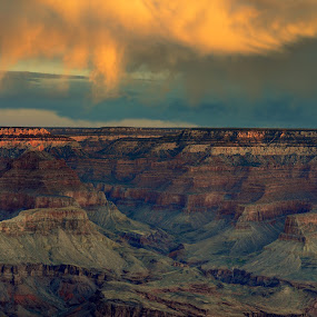 Grand Canyon by Gaurav Dhup - Landscapes Travel ( grand, colors, sunset, canyon, usa )