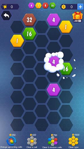 1024 Hexagon screenshot 2