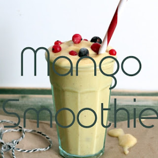 Summertime Bliss Mango Smoothie