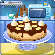 Cooking Banana Cake