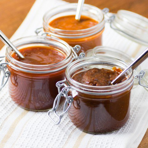 Smoky, Sweet, Spicy Trio of Homemade BBQ Sauces