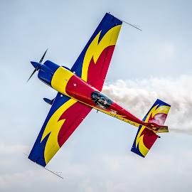 Sky is the limit by Mihaela Iordan - Sports & Fitness Other Sports ( limits, flight, sky, plane, aerobatic )
