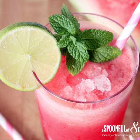 Watermelon Coconut Drink