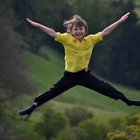 Star Jump by Keri Stephenson - Babies & Children Children Candids (  )