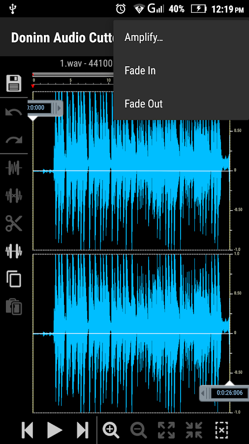 Doninn Audio Cutter Free Screenshot 5