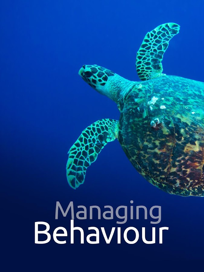 Managing Behaviour Screenshot 14