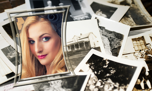 Retro Photo Frames - screenshot