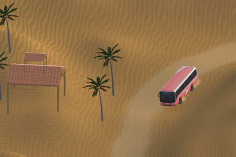 3D Desert Safari Tour Bus - screenshot