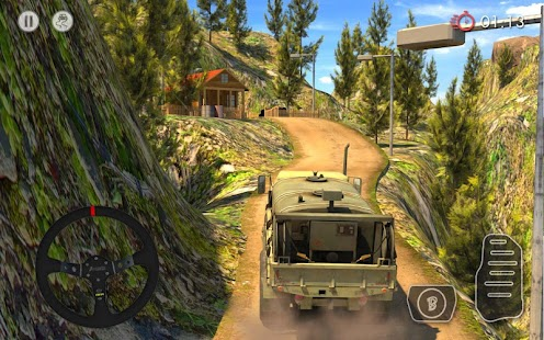 4 Army Truck Driver : Offroad App screenshot