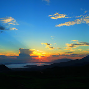 Sunrises in Ciater Village, West Java by Budiana Yusuf - City,  Street & Park  Vistas ( mount, indonesia, west java, landscape, subang )
