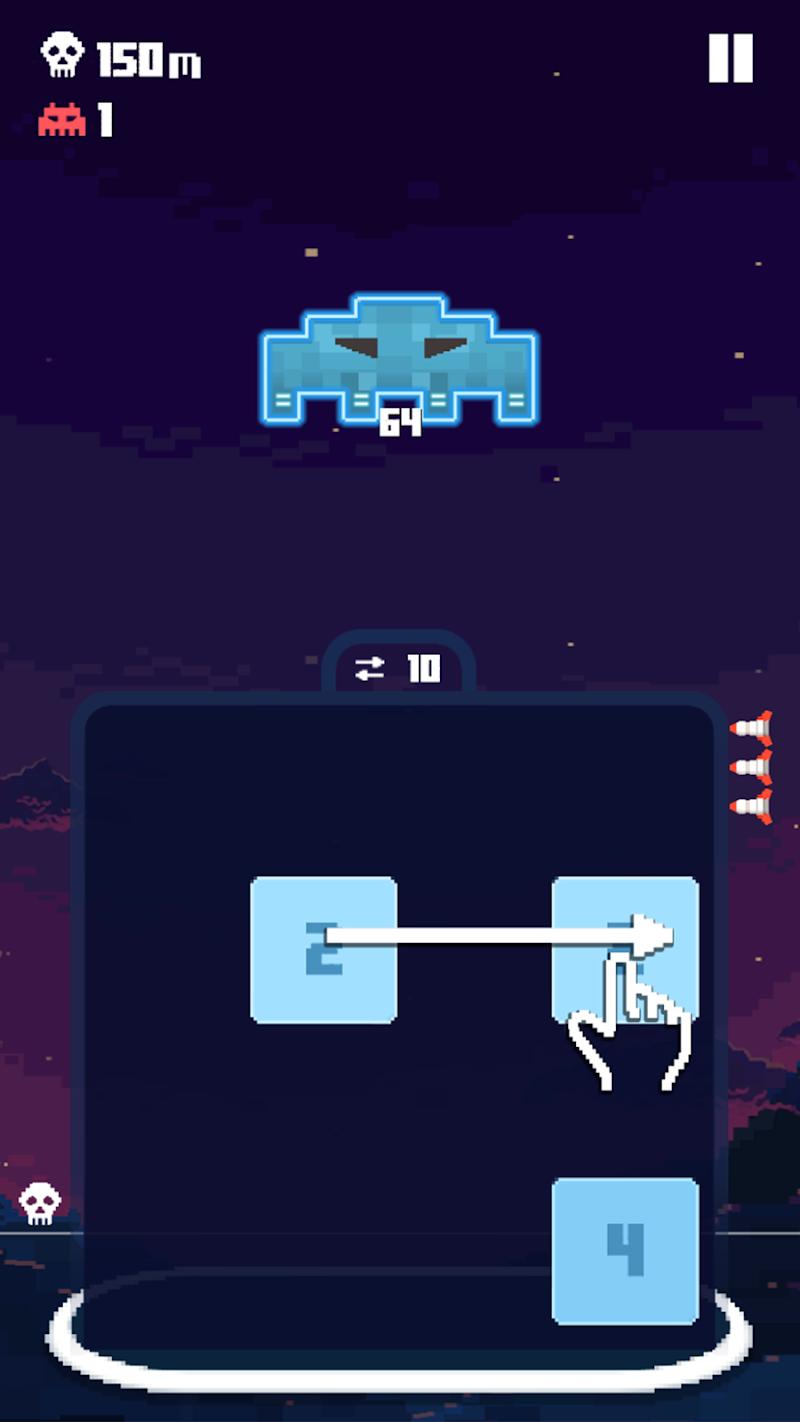 Invaders 2048 Screenshot 0