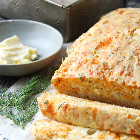 Cheddar and Dill Buttermilk Quick Bread
